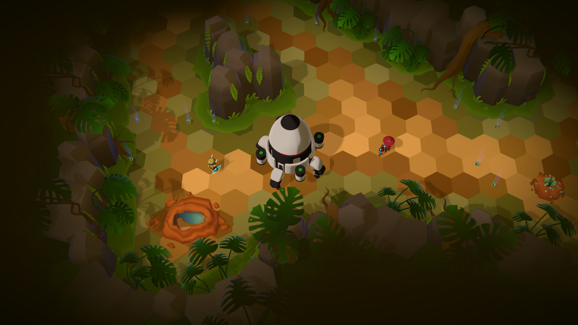 Forest Biome Gameplay Screenshot